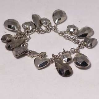 Estate vintage treasure keeper ster silver  toggle bracelet