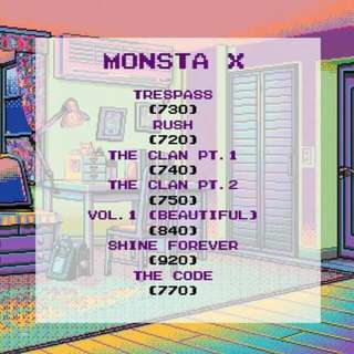 MONSTA X ALBUMS (BATCH 2)