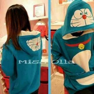 Sweater doraemon poket