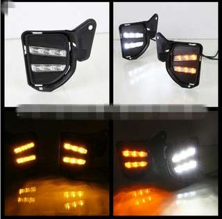 Hiace euro 5/6 led fog lamp with installation