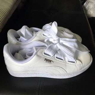 (Preloved and authentic) Puma Heart Basket sneakers