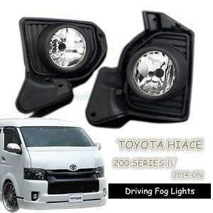 Toyota hiace euro 5/6 fog lamp with switch