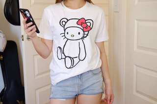 Hello Kitty Graniph T-shirt