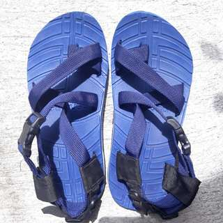Blue Hiking or Trekking Sandals