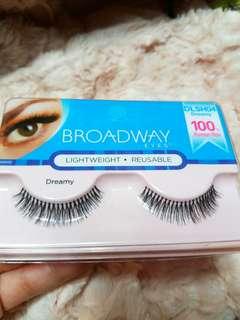 Broadway Human Hair Eyelash(isi 1 psg/ 1 pair)