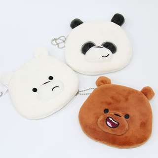 We bare bears coin pouch