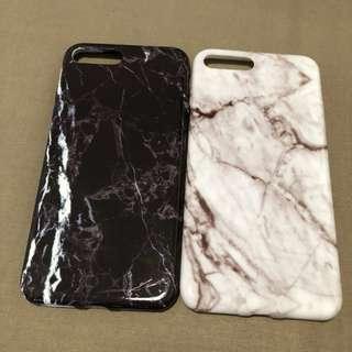 Iphone 7plus marble case