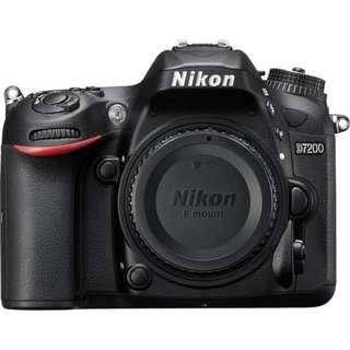 Nikon D7200 Kit AF-P DX NIKKOR 18-140mm f/3.5-5.6G VR Lens