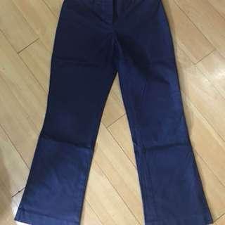 Tommy Hilfiger navy blue trouser