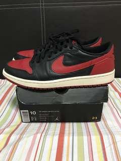 For Sale Jordan 1 breds low size Us 10
