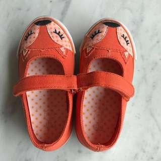 Mothercare Velcro strap fox shoes