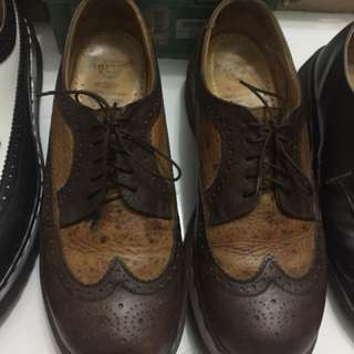 Dr Martens Wingtip Brogue Made in England