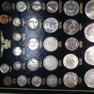 美國 銀幣 硬幣(保真)罕有收藏級29枚