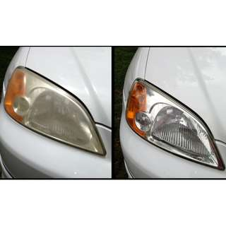 HEADLIGHT RESTORATION  @  CARS