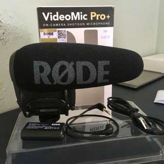 RODE Videomic Pro Plus (latest version)