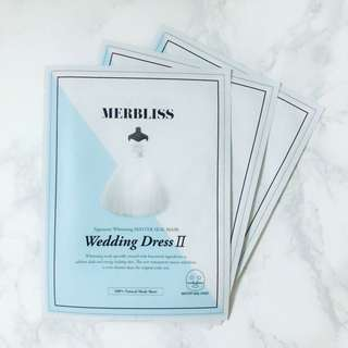 [INSTOCK] Merbliss Wedding Dress II Mask