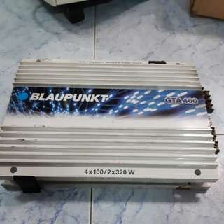 Car Amplifier Blaupunkt GTA400