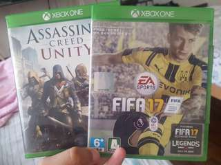 Xbox One Fifa 17 and Unity