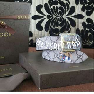 jual Belt Gucci with Tiger LEATHER MIRROR