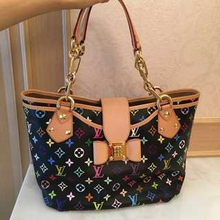 Louis Vuitton Monogram Multicolor Hobo Bag (Discontinued)
