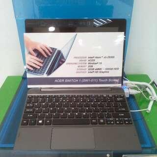 Cicilan notebook acer tanpa kartu kredit proses cepat 3 menit promo free 1x angsuran