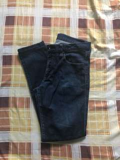 Uniqlo Dark Blue Skinny Jeans