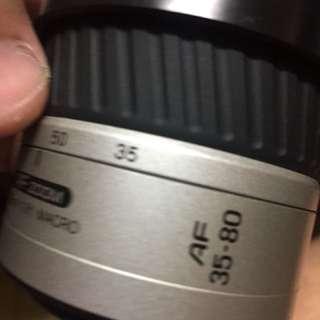 🚚 鏡頭 Len Minolta 35 80mm for af Sony a 含前蓋 hood