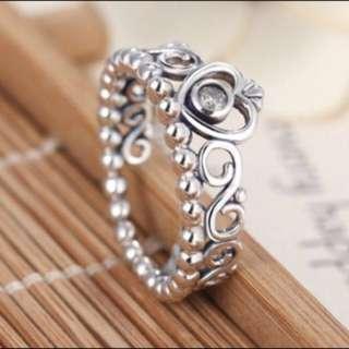 Princess crown ring 💍💖