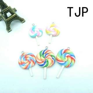 Lollipop Charms Kawaii Cute