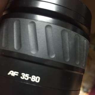 🚚 Len Minolta 35 80mm af for Sony a 內建前蓋