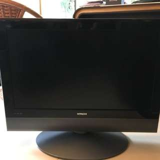"Hitachi 32""LCD TV - Made In Japan"