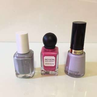 Set of Nail Polishes