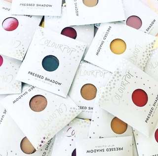 [AVAIL FOR PO🎀] Colourpop pressed powder shadows pan/compact po