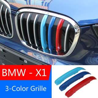 BMW X1 Series 3-Color Grille Clips 2016 verison onwards