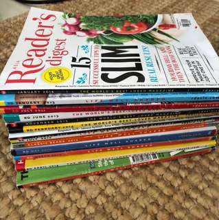 Reader's Digest assorted