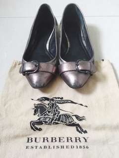 Burberry Monogram Flats