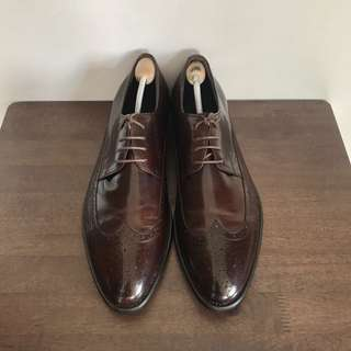 Kings Wingtip Formal Leather Shoes