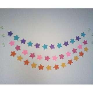 Stars garlands