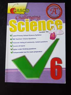 Challenging science assessment book