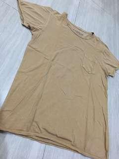 Tshirt Pull & Bear brown