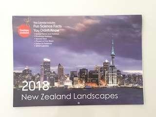 2018 New Zealand Calendar