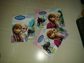 Panini Frozen Sticker Book