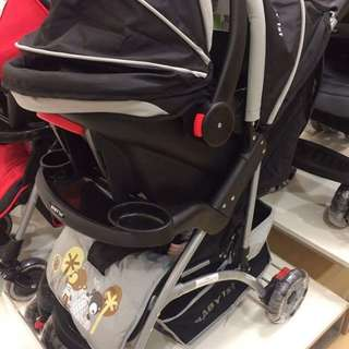 Baby 1st Stroller with Car Seat.