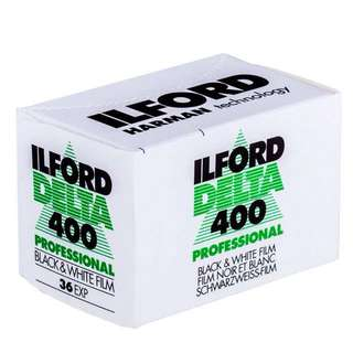 ILford B & W Film delta 400