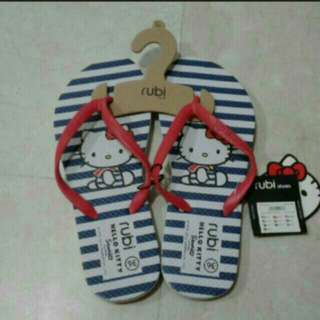 BNWT Rubi Hello Kitty Slippers