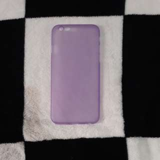Plain violet case (ip6/6s)