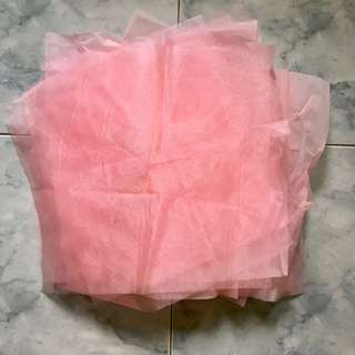 Crepe paper (?) for flower bouquet