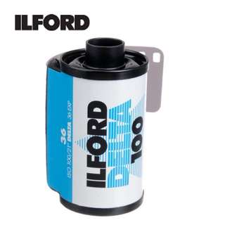 Ilford Delta 100 Professional Black and White Negative Film (35mm Roll Film, 36 Exposures)