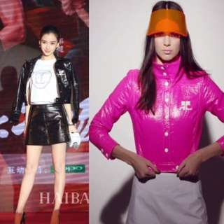 真品 Auth Courreges jacket as seen on Angelababy Kendall