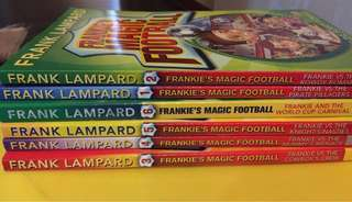 [6 bks set @ $30] Frankie Football magic